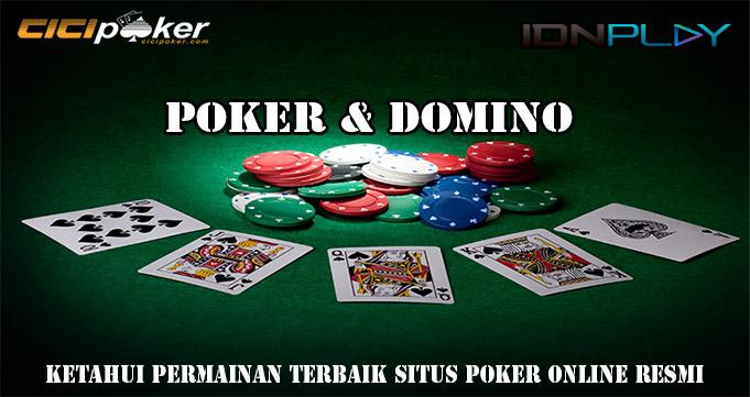 Ketahui Permainan Terbaik Situs Poker Online Resmi